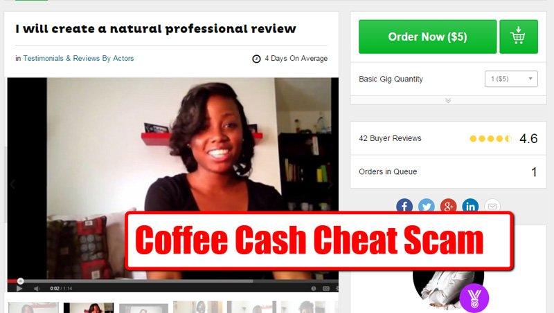 Coffee Cash Scam