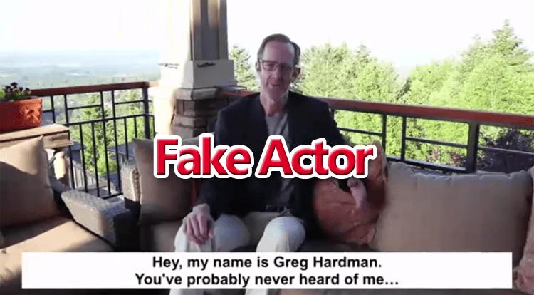 Disrupt Trading Fake Actor
