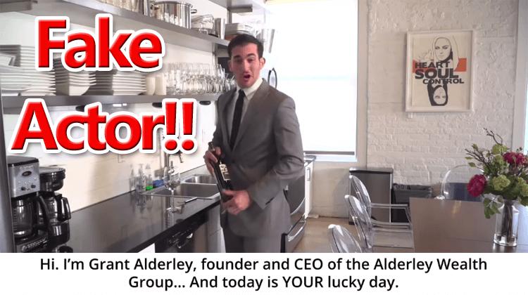 Grant Alderley Scam
