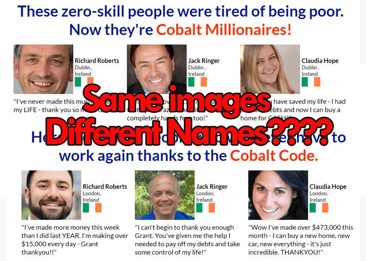 CobaltCodeFakeTestimonials