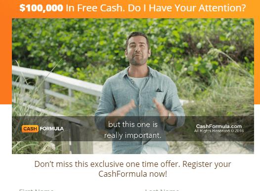 Cash Fomrula Bribe
