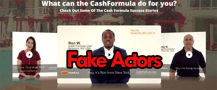 cash formula Testimonials