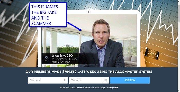 Algomaster system CEO