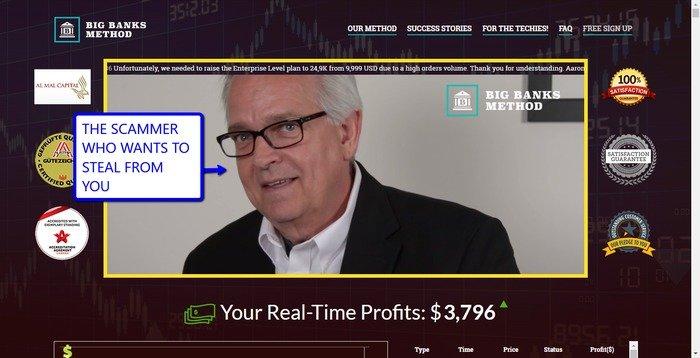 Aaron Davis big banks method