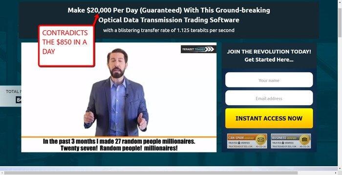 Terabot Trader Scam