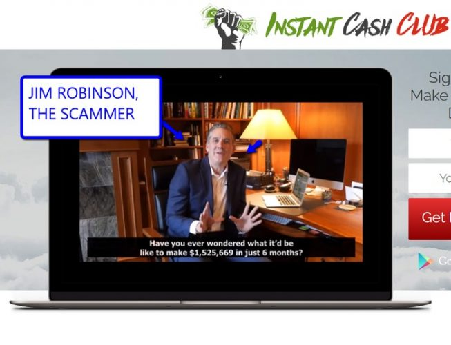 Instant Cash Club CEO