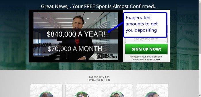 Crack Brokers Scam