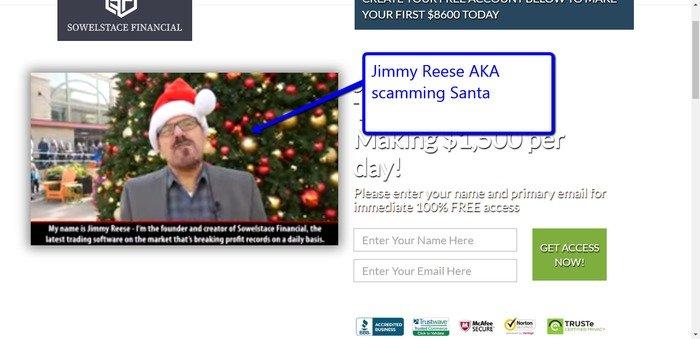 Jimmy Reese Sowelstace Financial
