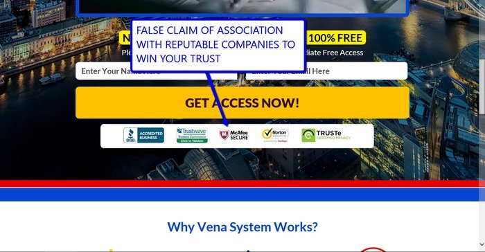 Vena System Scam Review