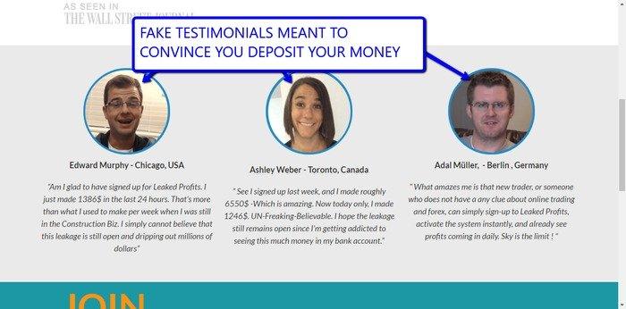 Leaked Profits Testimonials